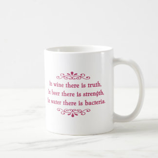 German Proverb -CF Classic White Coffee Mug