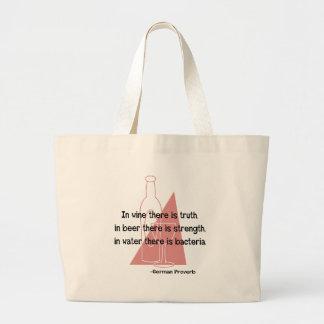 German Proverb -retro Tote Bag