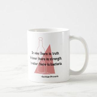 German Proverb -retro Coffee Mug