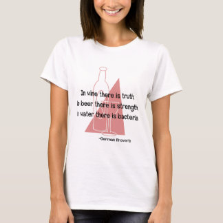 German Proverb -retro T-Shirt