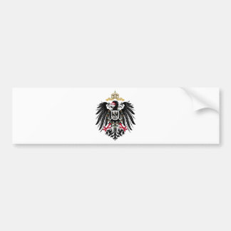 German realm Reich Bumper Sticker