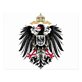 German realm Reich Postcard