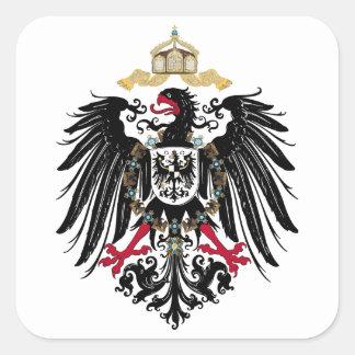German realm Reich Square Sticker