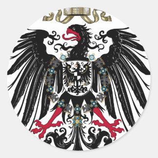 German Reich-Reichsadler 1889 Classic Round Sticker