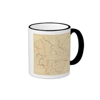 German Rivers 2 Coffee Mugs