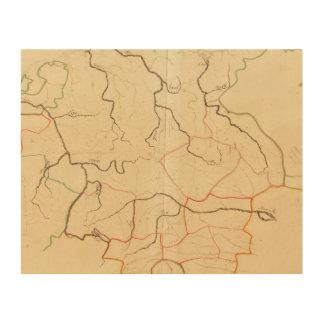 German Rivers 2 Wood Print
