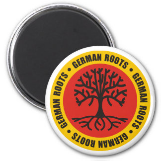 German Roots 2 Inch Round Magnet
