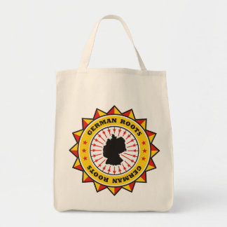 German Roots Map Canvas Bags