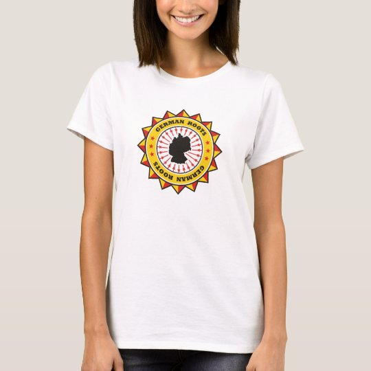 German Roots Map T-Shirt
