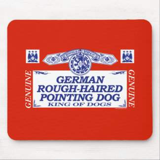 German Rough-Haired Pointing Dog Mouse Pad