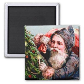 German Santa Magnet for the Holidays