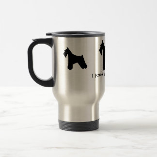 German Schnauzer Travel Mug