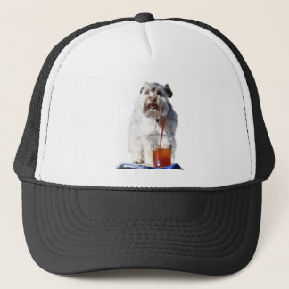 German Schnauzer Trucker Hat