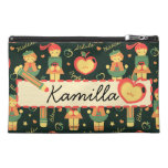 German Schoolgirls Pattern & Name Bag Travel Accessories Bags
