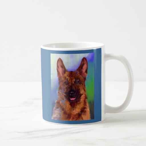 German  Shepard Classic White Coffee Mug