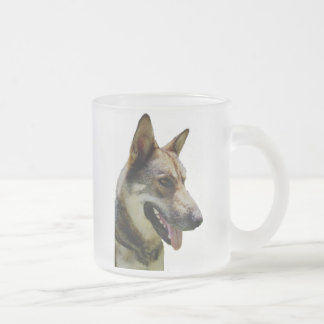 German Shepard Frosted Mug