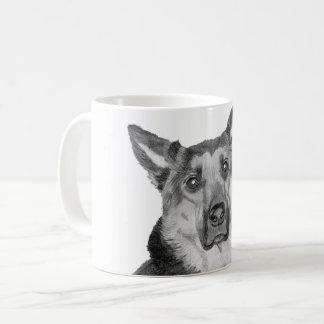 German Shepard Macie Coffee Mug