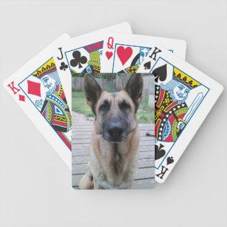 German Shepard Playing Cards