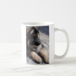 German Shepard Puppy Coffee Mug