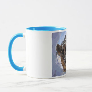 German Shepard Search and Rescue in the Snow Mug