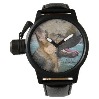 German Shepard Watch