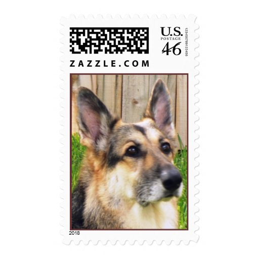 German Sheperd Dog Stamps