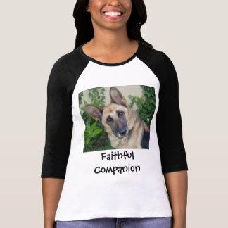 German Shephard, Faithful Companion T-Shirt