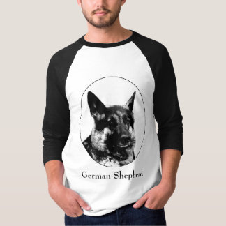 German shepheard t-shirt