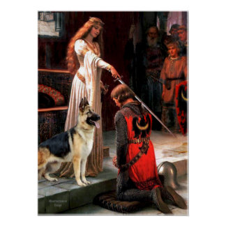 German Shepherd 13  - The Accolade Poster