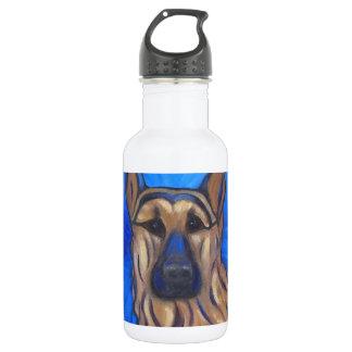 German Shepherd 18oz Water Bottle
