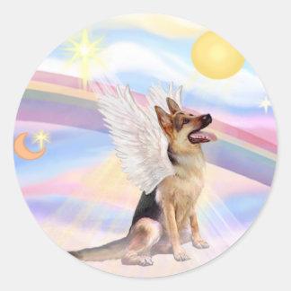 German Shepherd #1 Classic Round Sticker