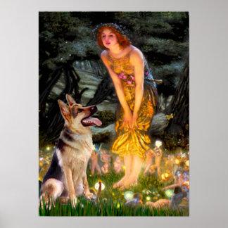 German Shepherd 1 - Midsummers Eve - Poster