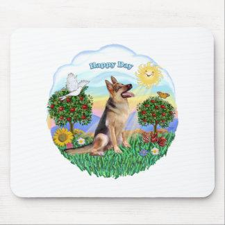German Shepherd #1 Mouse Pad