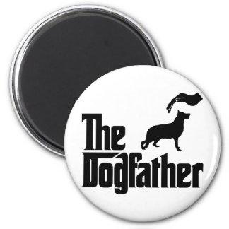 German Shepherd 2 Inch Round Magnet