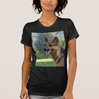 German Shepherd 2 LADIES  T-Shirt Womens Tee Shirt