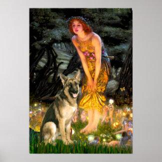 German Shepherd 2 - Midsummers Eve Poster