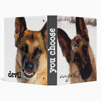 German Shepherd  3 Ring Binder