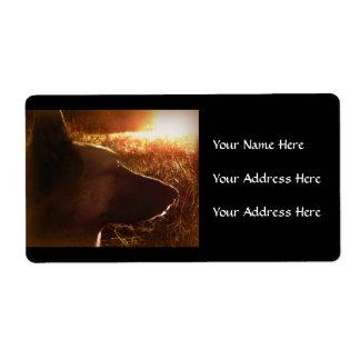German Shepherd Address Labels