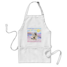German Shepherd Adult Apron