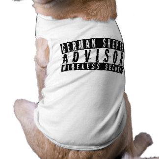 German Shepherd Advisory Wireless Security Shirt