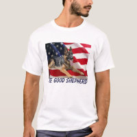 German Shepherd America T-Shirt