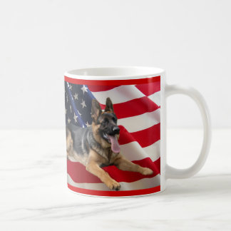 German Shepherd American Mug