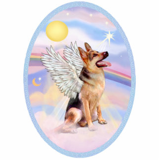 German Shepherd  Angel Cutout