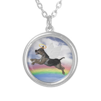 German Shepherd Angel Pup Custom Jewelry
