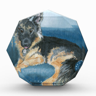 German Shepherd Angus Acrylic Award