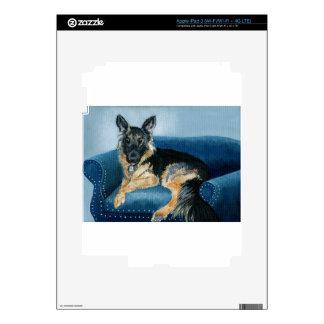 German Shepherd Angus iPad 3 Skin