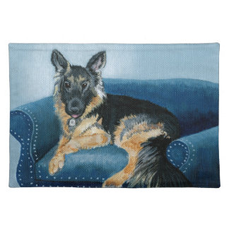 German Shepherd Angus Placemat