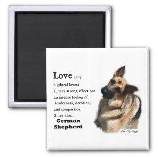 German Shepherd Art Gifts Refrigerator Magnets