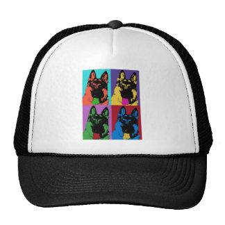 German Shepherd Art Trucker Hat