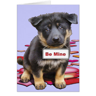 German Shepherd, Babe Card